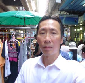 Shopping in Silom, Thailand.
